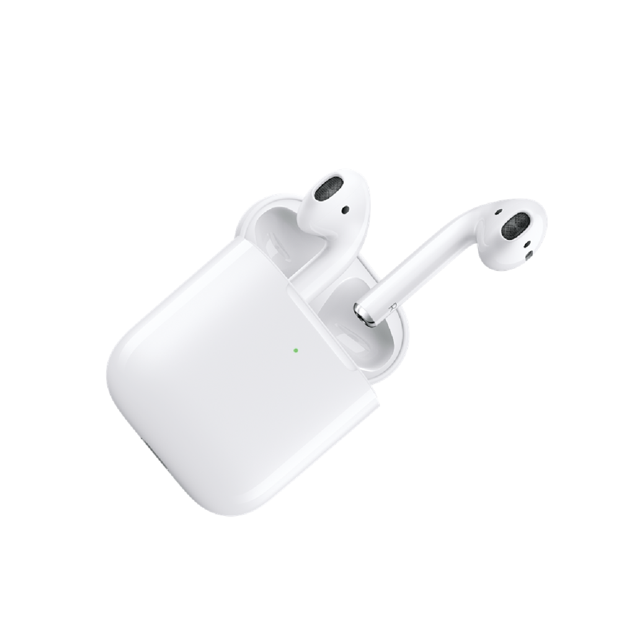 Apple Airpods (2nd Generation) Headset With Wireless Charging Case