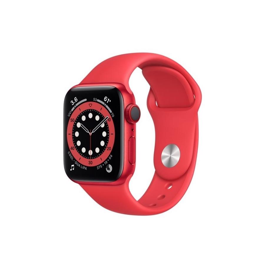 Apple Watch Series 6 GPS & 4G 40mm Product Red Aluminium Case med Product Red Sport Band