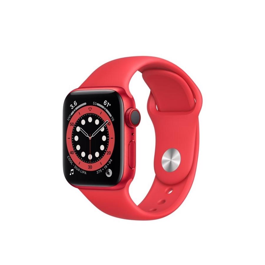 Apple Watch Series 6 GPS & 4G 44mm Product Red Aluminium Case med Product Red Sport Band