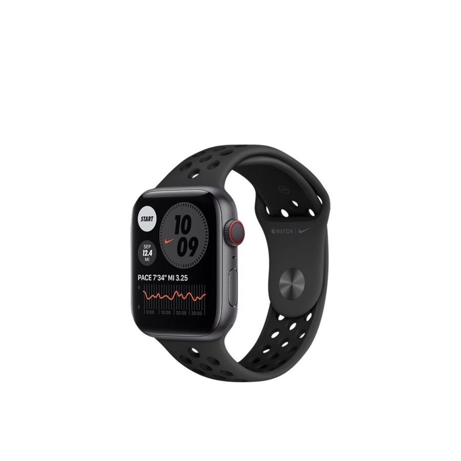 Apple Watch Nike Series 6 GPS & 4G 44mm Space Grey Aluminium Case med Pure Anthracite/Black Nike Sport Band