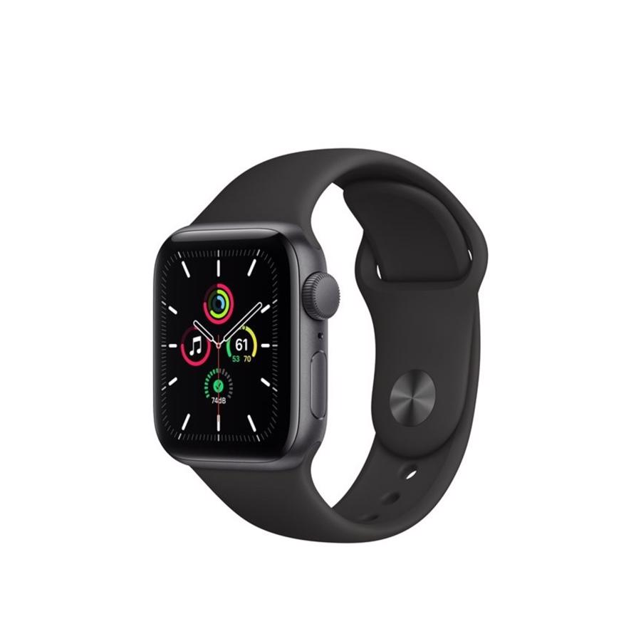 Apple Watch SE GPS & 4G 40mm Space Grey Aluminium Case med Black Sport Band