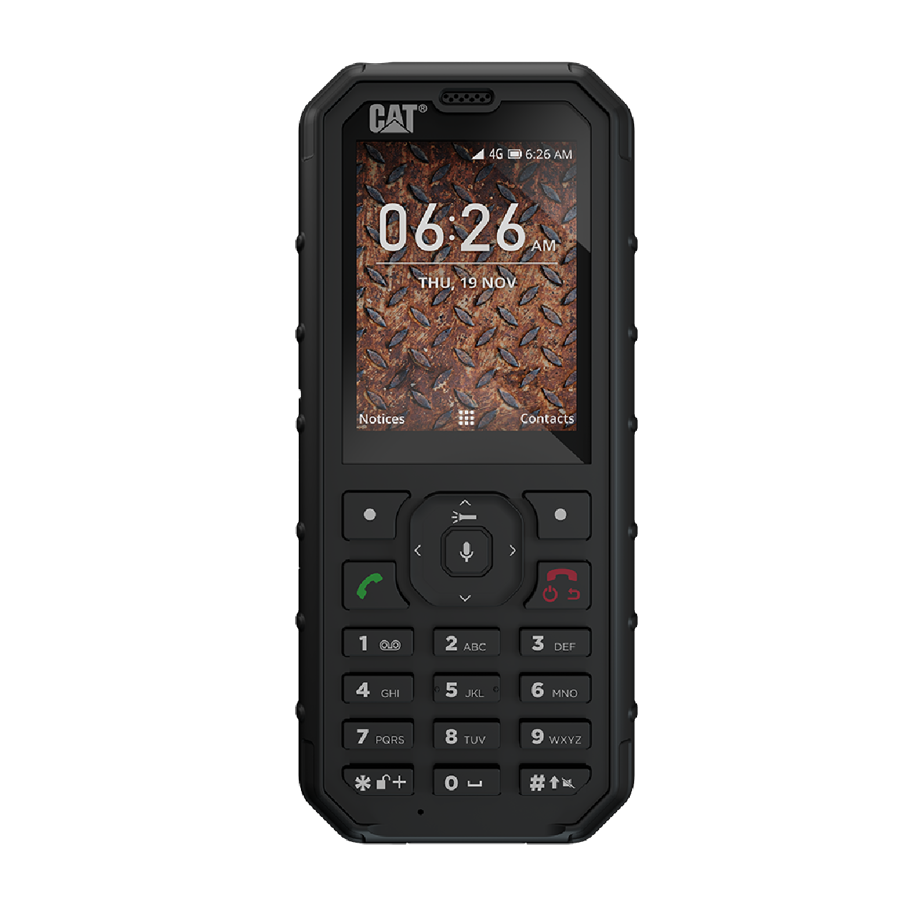 Caterpillar CAT B35 4GB Sort Dual-SIM