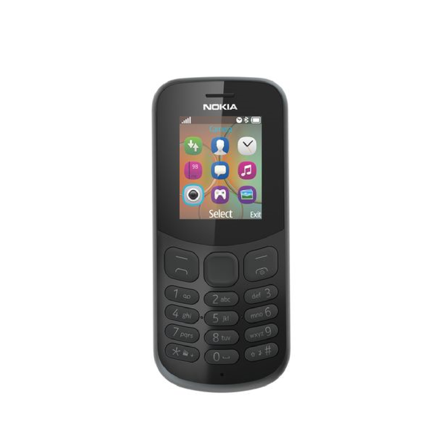 Nokia 130 2017 8MP Sort