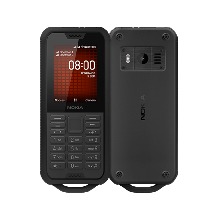 Nokia 800 Tough 4GB Sort Dual-SIM