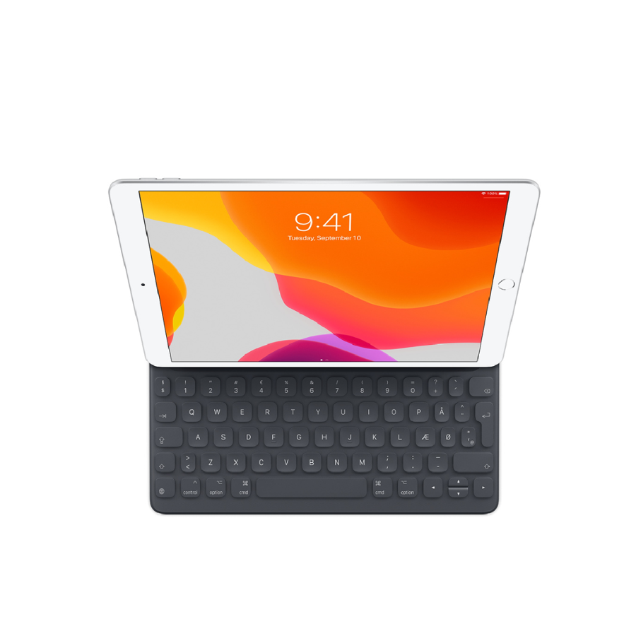 "Smart Keyboard iPad 10,2""(7 og 8 .gen), iPad Pro 10,5"" og iPad Air (3.gen) DK"